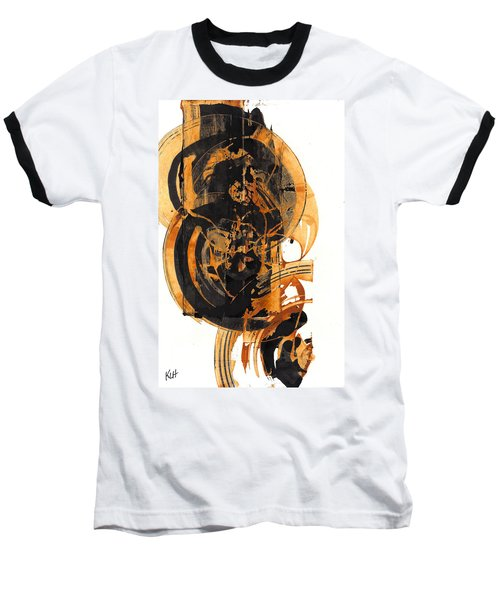 Baseball T-Shirt featuring the painting Austere's Moment O Glory 113.122210 by Kris Haas
