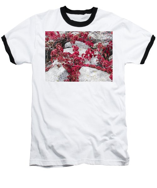 Autumn Color Is Red Baseball T-Shirt