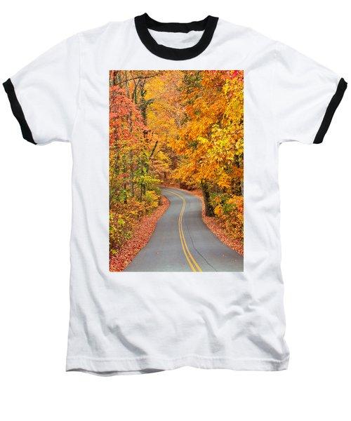 Autumn Drive Signal Mountain Baseball T-Shirt