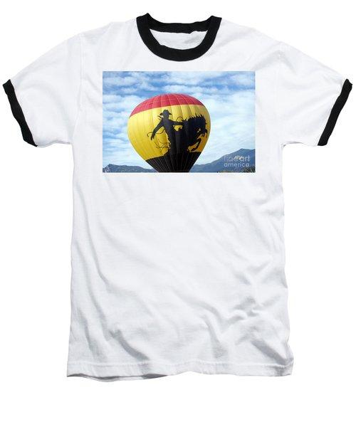 Baseball T-Shirt featuring the photograph Balloon 24 by Deniece Platt