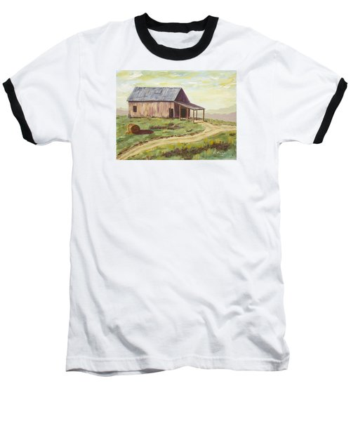 Barn On The Ridge Baseball T-Shirt