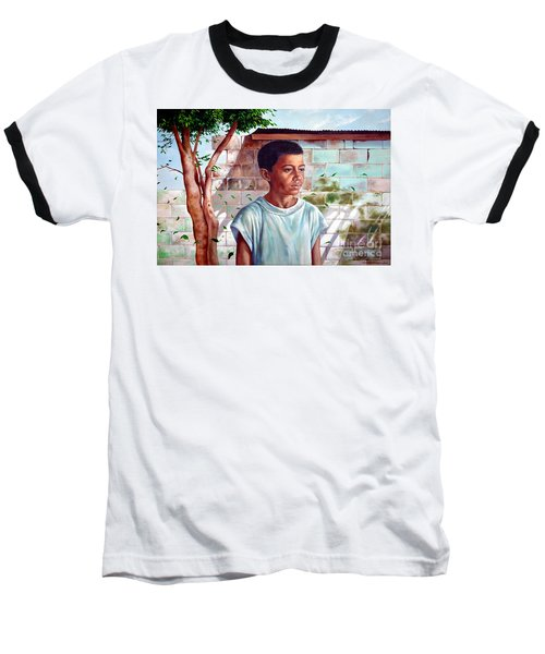 Bata The Filipino Child Baseball T-Shirt