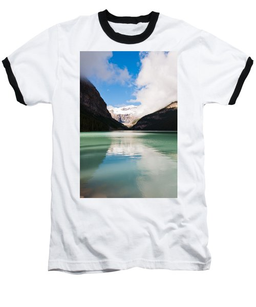 Beautiful Lake Louise Baseball T-Shirt by Cheryl Baxter