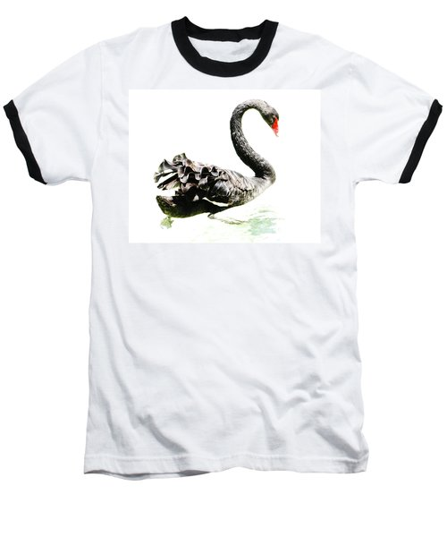Black Swan Baseball T-Shirt