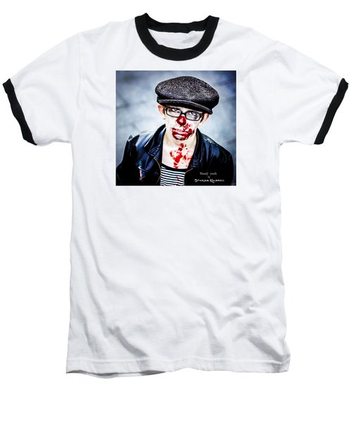 Baseball T-Shirt featuring the photograph Bloody Youth by Stwayne Keubrick