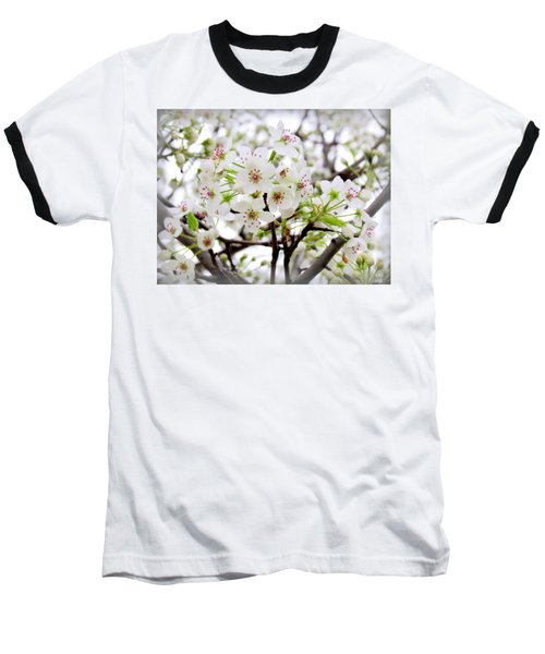 Baseball T-Shirt featuring the photograph Blooming Ornamental Tree by Kay Novy
