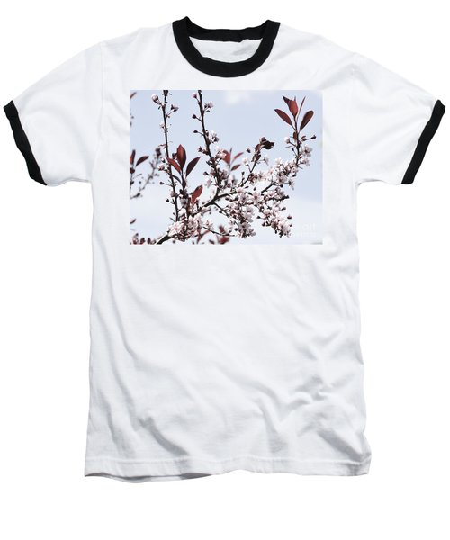 Blossoms In Time Baseball T-Shirt