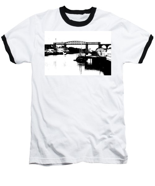 Baseball T-Shirt featuring the photograph Bridge On The Boyne by Charlie and Norma Brock