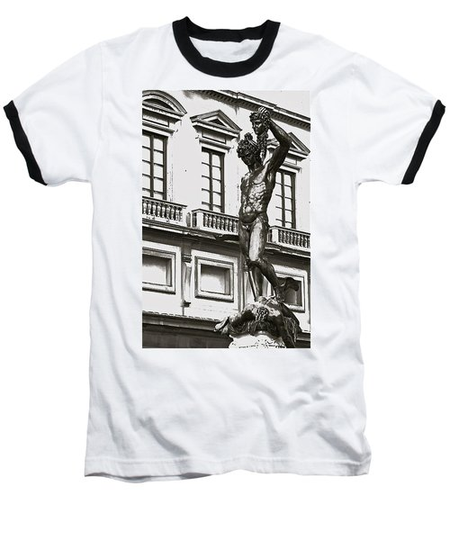 Baseball T-Shirt featuring the photograph Bronze Icon by Eric Tressler