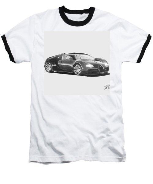Bugatti Veyron Eb Baseball T-Shirt