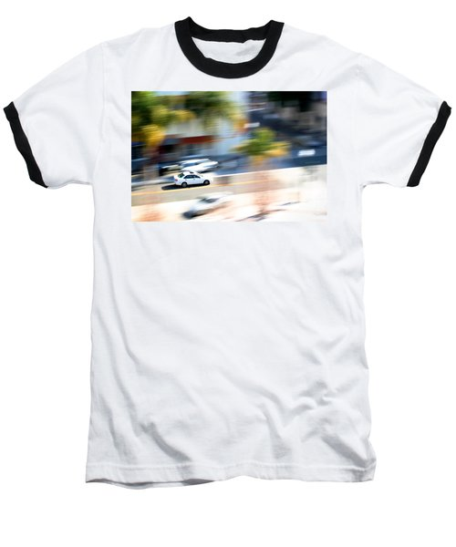Car In Motion Baseball T-Shirt