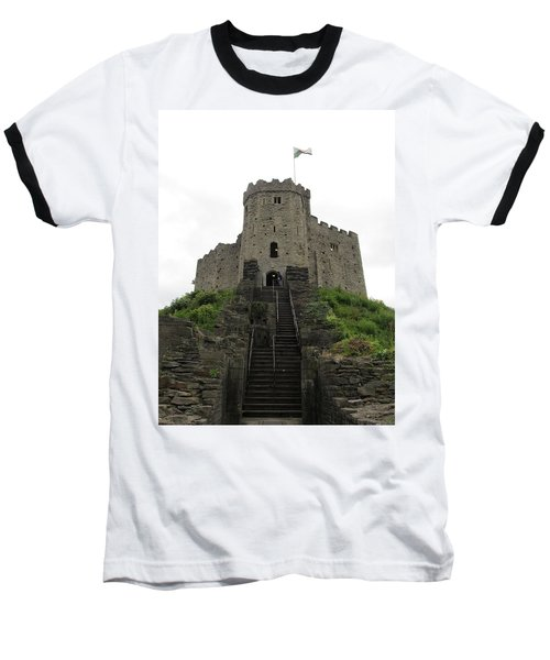 Cardiff Castle Baseball T-Shirt