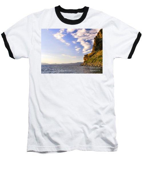 Cave Rock - Lake Tahoe Baseball T-Shirt
