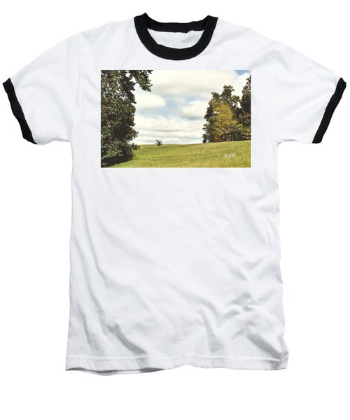 Clouds In The Morning Baseball T-Shirt
