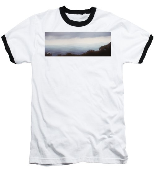 Clouds In The Mountains Baseball T-Shirt