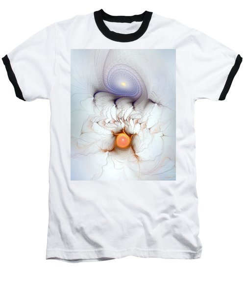 Baseball T-Shirt featuring the digital art Coexistence by Casey Kotas