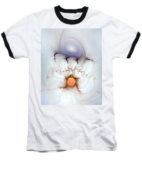 Coexistence Baseball T-Shirt by Casey Kotas