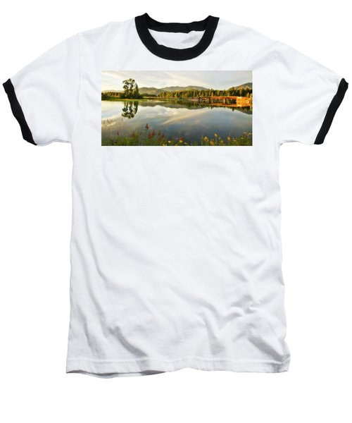 Baseball T-Shirt featuring the photograph Deer Island Bridge by Albert Seger