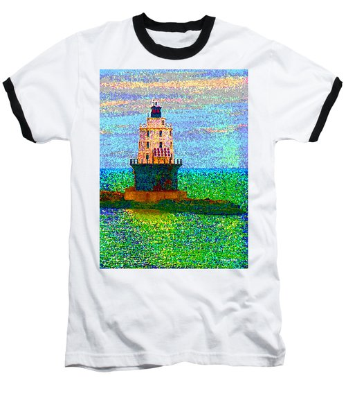 Baseball T-Shirt featuring the photograph Delight House by Clara Sue Beym