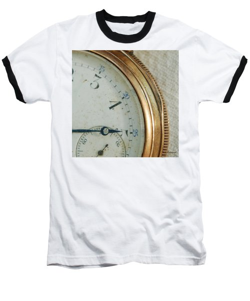 Baseball T-Shirt featuring the photograph Details Of Time 2 by Kay Lovingood