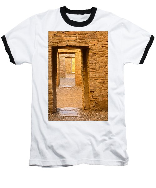 Doorway Chaco Canyon Baseball T-Shirt