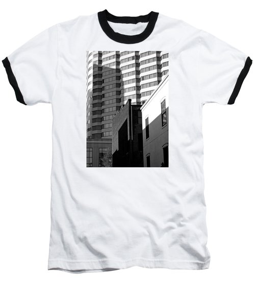 Baseball T-Shirt featuring the photograph Downtown Lines by Jean Haynes