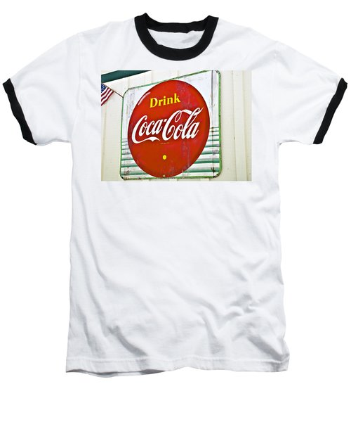 Drink Coca Cola Baseball T-Shirt