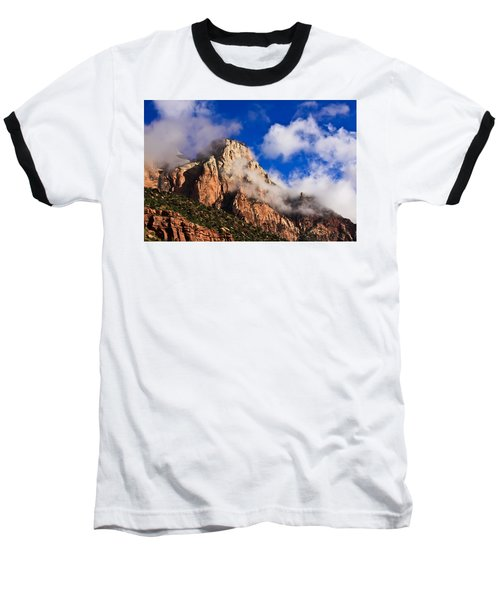 Early Morning Zion National Park Baseball T-Shirt