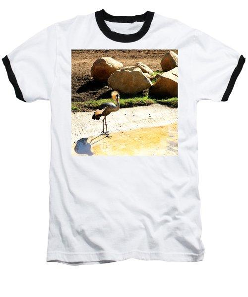 East African Crowned Crane Baseball T-Shirt