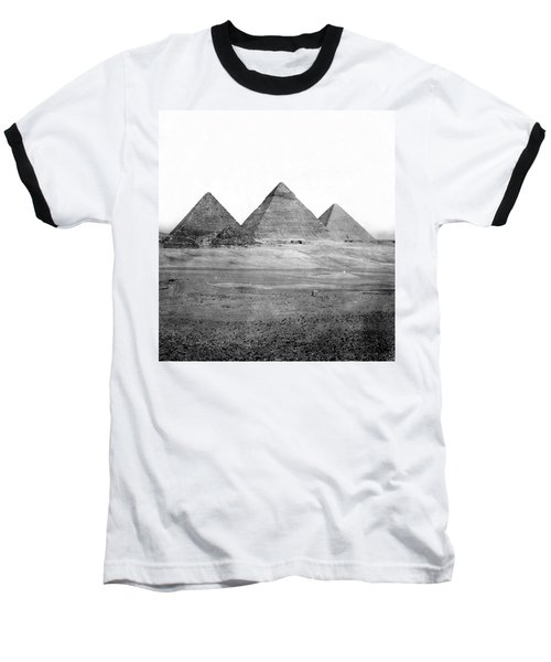 Egyptian Pyramids - C 1901 Baseball T-Shirt by International  Images