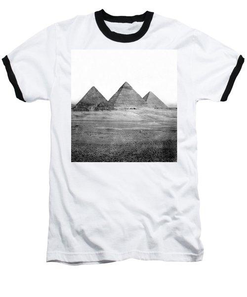 Egyptian Pyramids - C 1901 Baseball T-Shirt by International  Images