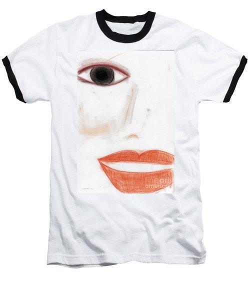 Baseball T-Shirt featuring the photograph Face by Vicki Ferrari