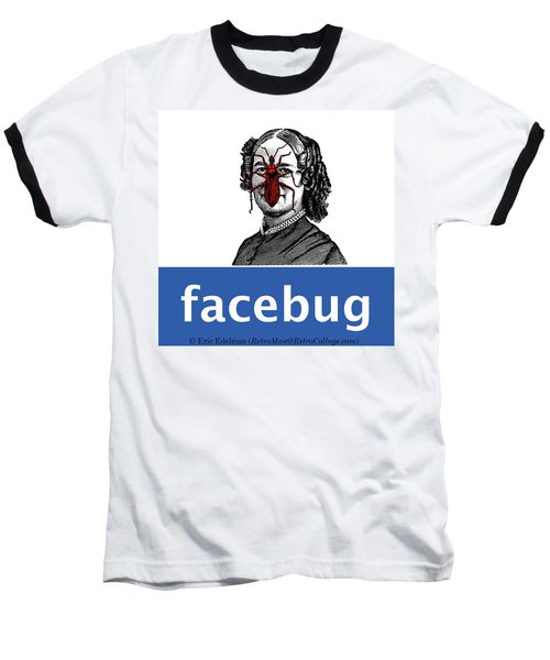 Facebug For Women Baseball T-Shirt