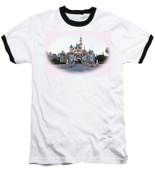 Fairytale Castle Baseball T-Shirt