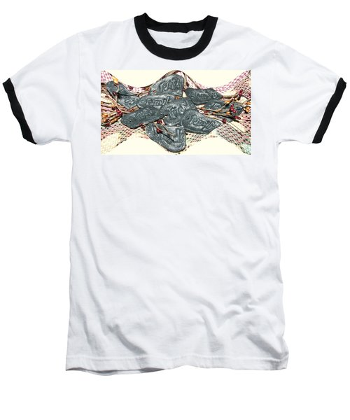 Family Faith Friends Swag Baseball T-Shirt by Pamela Hyde Wilson