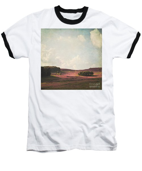 Fields Of Heather Baseball T-Shirt by Lyn Randle