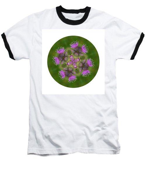 Baseball T-Shirt featuring the photograph Flower Of Scotland by Lynn Bolt