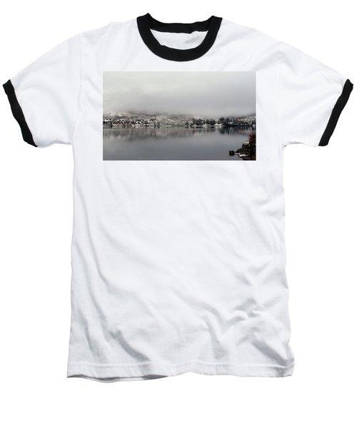 Baseball T-Shirt featuring the photograph Fog On The Loch by Lynn Bolt