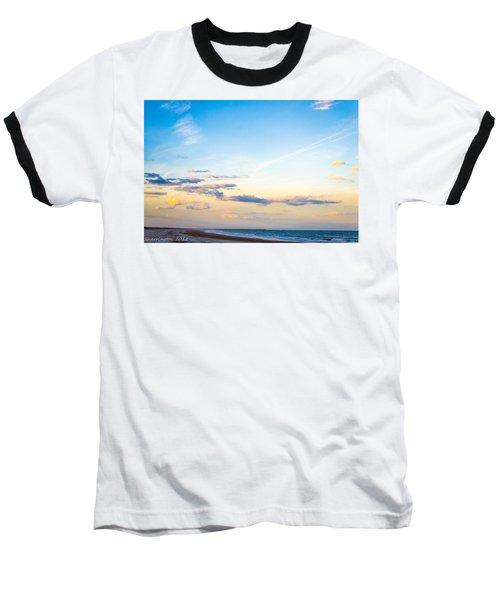 Baseball T-Shirt featuring the photograph Forte Clinch Pier by Shannon Harrington