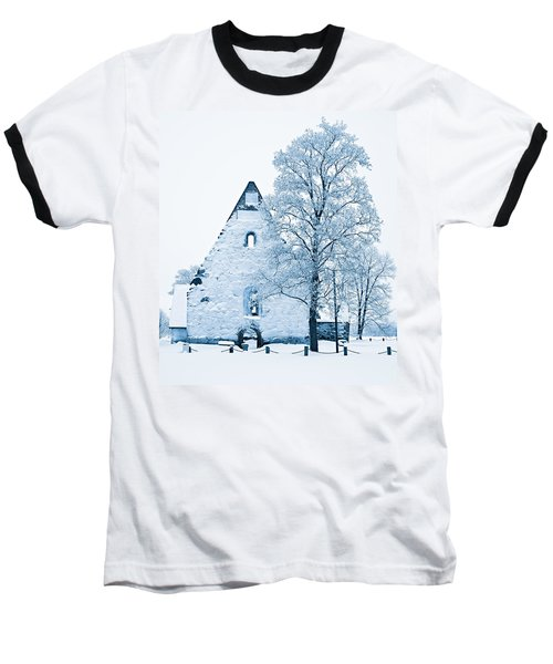 Frosty Ruins Baseball T-Shirt