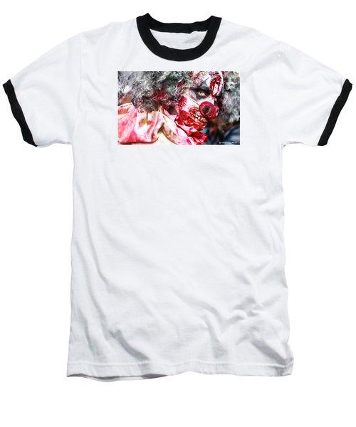 Baseball T-Shirt featuring the photograph Frozen Tremors by Stwayne Keubrick