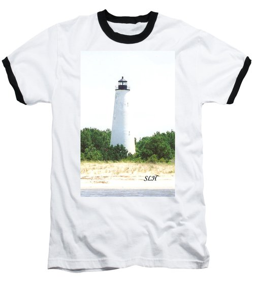 George Town Lighthouse Baseball T-Shirt