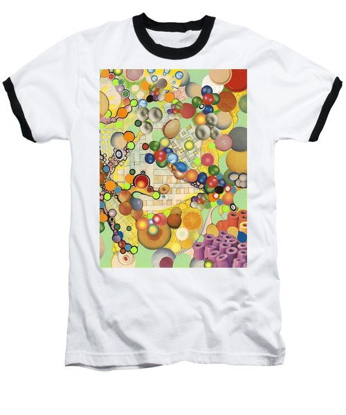 Globious Maximous Baseball T-Shirt by Douglas Fromm