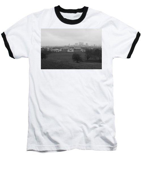 Baseball T-Shirt featuring the photograph Greenwich View by Maj Seda