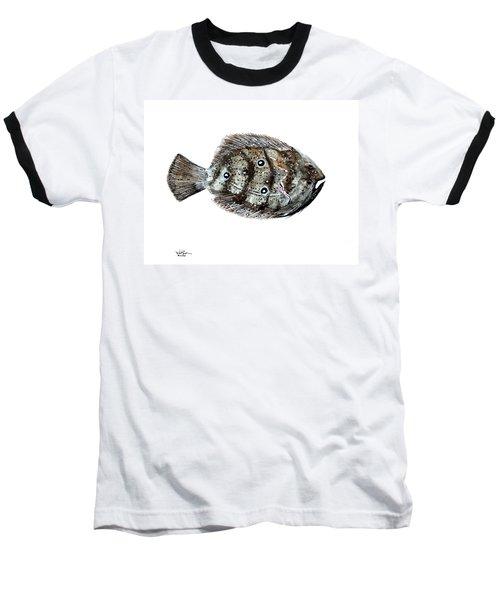 Gulf Flounder Baseball T-Shirt