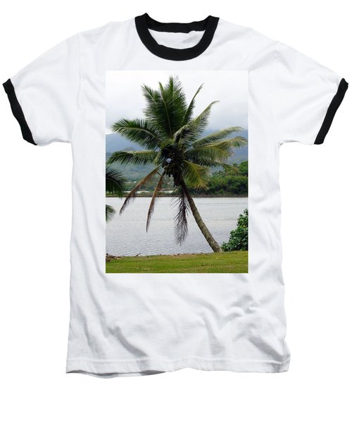 Baseball T-Shirt featuring the photograph Hawaiian Palm by Athena Mckinzie