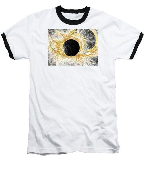 Baseball T-Shirt featuring the digital art Horizon by Kim Sy Ok
