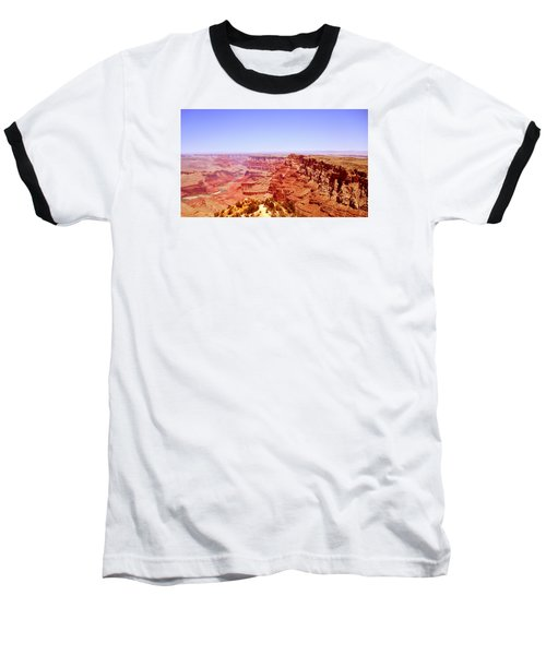 Baseball T-Shirt featuring the photograph horizon in Grand Canyon by Rima Biswas