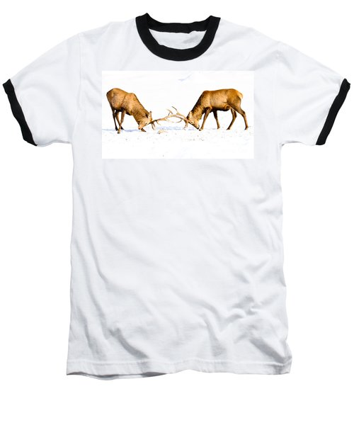 Horns A Plenty Baseball T-Shirt