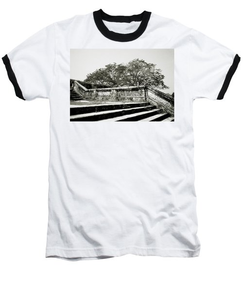Hue  Baseball T-Shirt by Shaun Higson